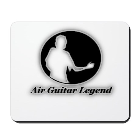 """Air Guitar Legend"" Mousepad"