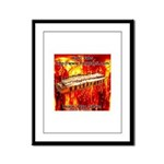 lava.png Framed Panel Print