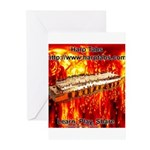lava.png Greeting Cards (Pk of 10)