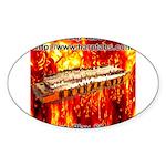 lava.png Sticker (Oval 10 pk)