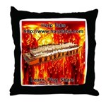 lava.png Throw Pillow