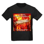 lava.png Kids Dark T-Shirt
