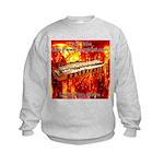 lava.png Kids Sweatshirt