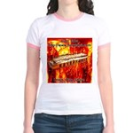 lava.png Jr. Ringer T-Shirt