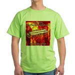 lava.png Green T-Shirt