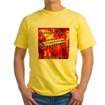 lava.png Yellow T-Shirt
