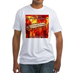 lava.png Fitted T-Shirt