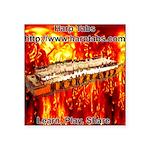 lava.png Square Sticker 3