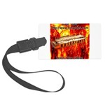 lava.png Large Luggage Tag