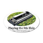 harmonica1.jpg 20x12 Oval Wall Decal