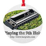 harmonica1.jpg Round Ornament