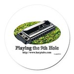 harmonica1.jpg Round Car Magnet