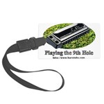 harmonica1.jpg Large Luggage Tag