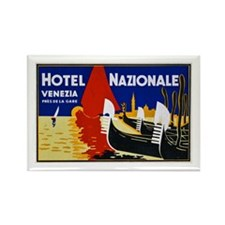 Italy Travel Poster 2 Rectangle Magnet