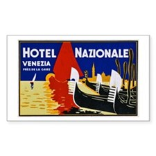 Italy Travel Poster 2 Decal