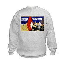 Italy Travel Poster 2 Sweatshirt
