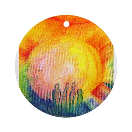 We Are Not Alone Ornament (Round)
