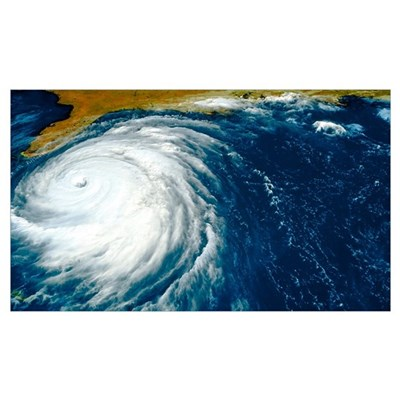 Hurricane Floyd Canvas Art