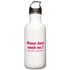 Please don't touch me! Water Bottle