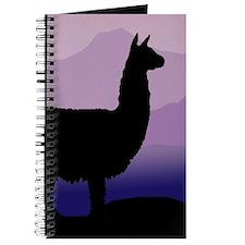 alpaca purple mountains Journal