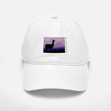 alpaca purple mountains Baseball Baseball Cap