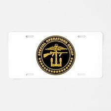 SOG - SAD Aluminum License Plate