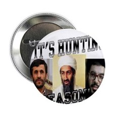 """It's Hunting Season 2.25"""" Button (100 pack)"""