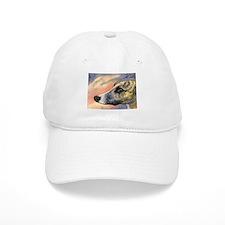 Brindle whippet greyhound dog Hat