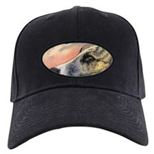 Brindle whippet greyhound dog Baseball Hat