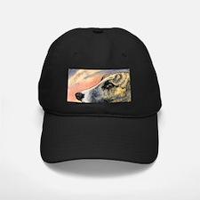 Brindle whippet greyhound dog Baseball Hat