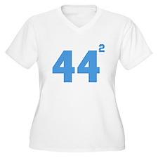 Obama 44 squared Plus Size T-Shirt