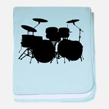Drums baby blanket