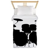 Drum set Duvet Covers