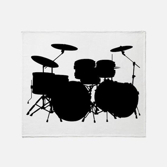 Drums Throw Blanket