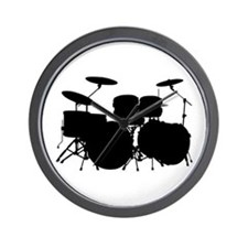 Drums Wall Clock