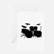 Drums Greeting Cards (Pk of 10)