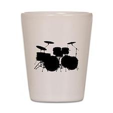 Drums Shot Glass