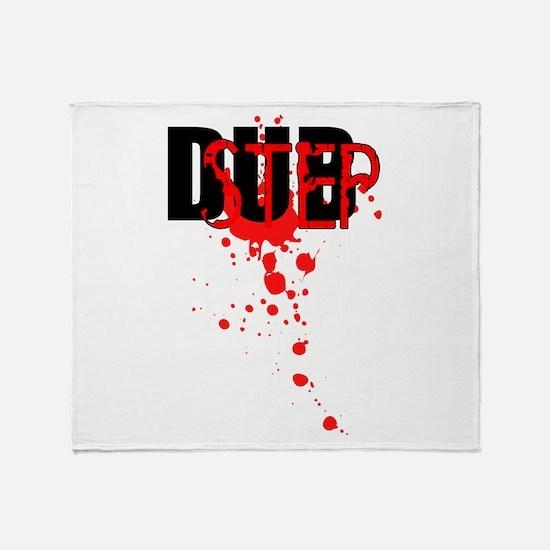 Dubstep Throw Blanket