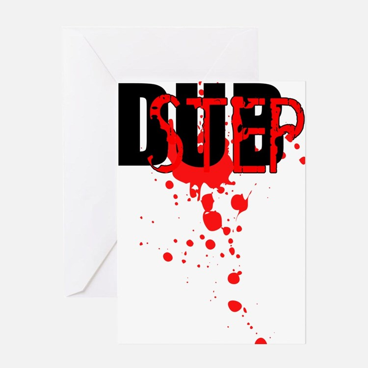 Dubstep Greeting Card