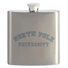 North Pole University Flask
