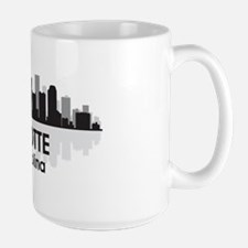 Charlotte Skyline Large Mug