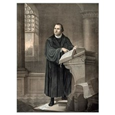 Martin Luther, German theologian Canvas Art