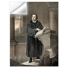 Martin Luther, German theologian Wall Decal