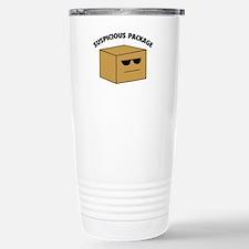 Suspicous Package Travel Mug