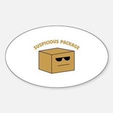 Suspicous Package Decal