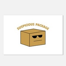 Suspicous Package Postcards (Package of 8)
