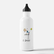 Boy I Dive Water Bottle