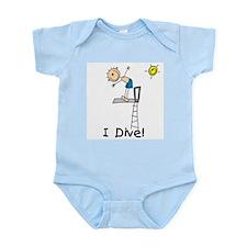 Boy I Dive Infant Bodysuit