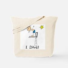 Boy I Dive Tote Bag