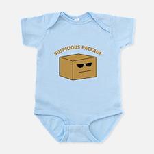 Suspicous Package Infant Bodysuit